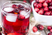 Chilled Cranberry Juice — Stockfoto