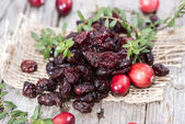 Sun dried Cranberries — Stock Photo