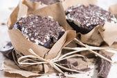 Fresh made Chocolate Muffins — Stock Photo