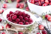 Preserved Cranberries — Stock Photo