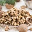Heap of Walnuts — Stockfoto