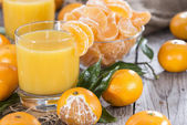 Tangerine Juice — Stock Photo