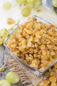 Portion of dried Grapes — Stok fotoğraf