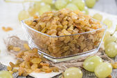 Dried Grapes — Stock Photo