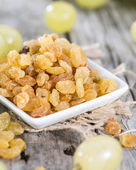 Portion of dried Grapes — ストック写真