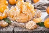 Heap of fresh Tangerines — Stock Photo