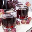 Stock Photo: Chilled Red Grape Juice