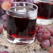 Stock Photo: Grape Juice with Ice