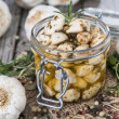 Stock Photo: Preserved Garlic