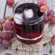 Stock Photo: Red Grape Juice