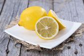 Some fresh Lemon Fruits — Stock Photo