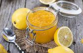 Homemade Lemon Jam — Stock Photo
