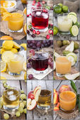 Different Juices — Stock Photo
