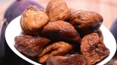 Dried Figs — Stock Video