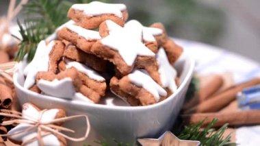 рождественские конфеты — Стоковое видео