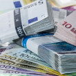 Stock Photo: Heap of Euro Bills