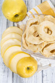Portion of dried Apples — Stock Photo