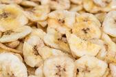 Fundo de chips de banana — Fotografia Stock