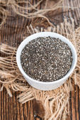 Fresh Chia Seeds — Stock Photo