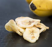 Banana Chips (close-up shot) — Stock Photo