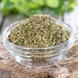 Shredded Oregano — Stock Photo