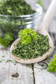 Dried Parsley — Stock Photo