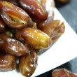 Stock Video: Dried Dates  Rotating