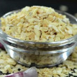Stock Video: Garlic Spice Rotating