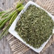 Stock Photo: Dried Chive