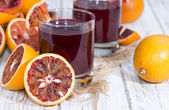 Homemade Blood Orange Juice — Stock Photo