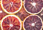 ブラッド オレンジのスライス — ストック写真
