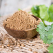 Portion of Coriander Powder — Stock Photo #43684317