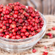 Pink Peppercorns (close-up shot) — Stock Photo
