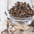 Cloves in a small bowl — Stock Photo