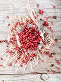 Pink Peppercorns (close-up shot) — Stock Photo
