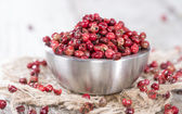 Portion of Pink Peppercorns — Stock Photo