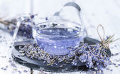 Lavender Bath Additive — Stock Photo