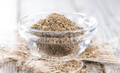 Small bowl with Aniseed — Stock Photo