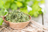 Parsley (dried) — Stock Photo