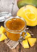 Portion of Mango Jam — Stock Photo