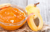 Homemade Apricot Jam — Stock Photo