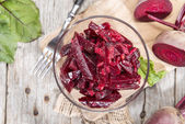 Bowl with Beetroot Salad — Stock Photo