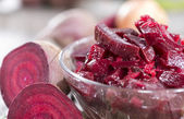 Beetroot Salad in a bowl — Stock Photo
