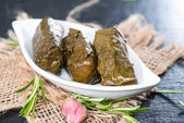 Fresh Dolmades — Foto Stock