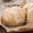 Fresh baked Sesame Buns — Stock Photo #48007861