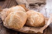 Sesam broodjes — Stockfoto