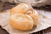 Fresh made Buns — Stock Photo