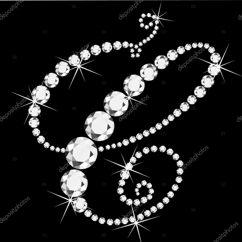 C Letter In Diamond C letra cursiva...