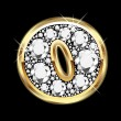 Vettoriale Stock : O gold and diamonds bling