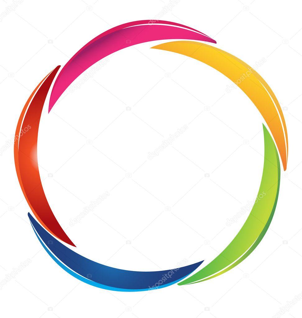 Создаем в фотошопе круглый логотип с декоративным